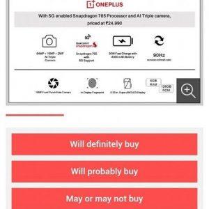 OnePlus-Z-alleged-specs-survey